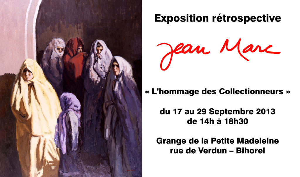 Exposition Jean MARC